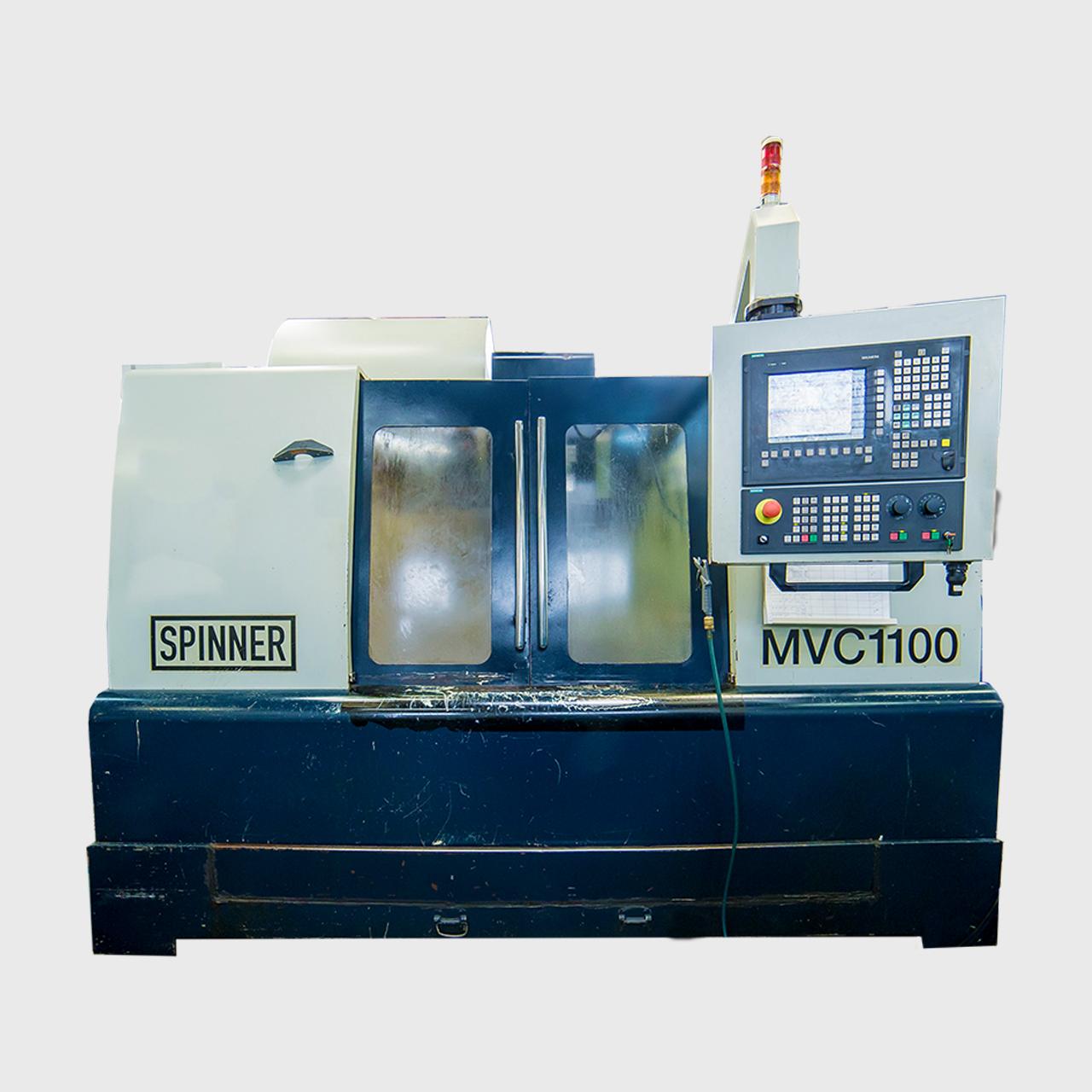 CENTRUL DE FREZARE CNC SPINNER MVC1100 4 AXE
