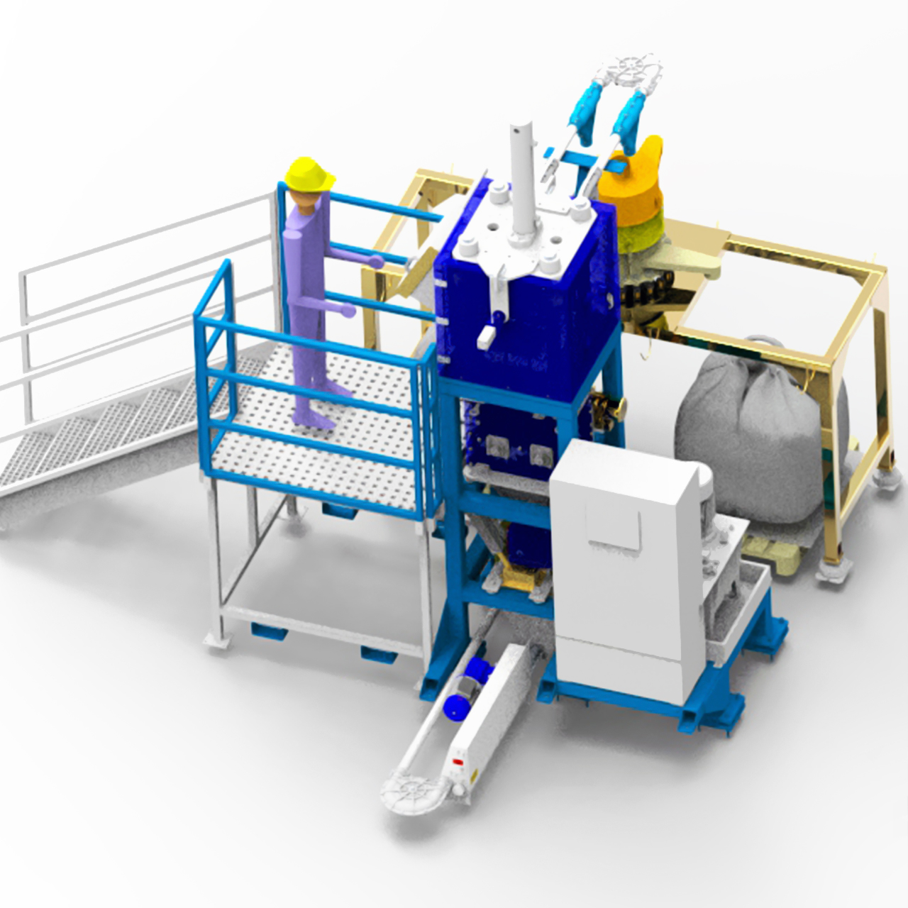 Magnesium recycling system from slag